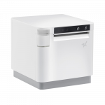 Star mC-Print3 thermal cube POS printer white side